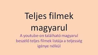 Teljes Filmek Listája Magyarul Beszélő Akció