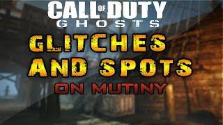 COD Ghosts Glitches: Glitches/Spots On Mutiny