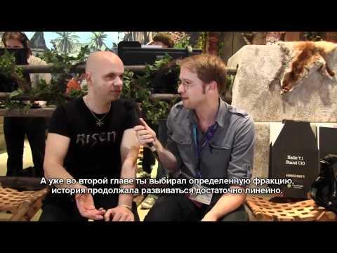 GamesCom: видео-интервью с Бьерном Панкратцем + 38 минут геймплея