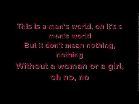 Seal - It's A Man's Man's Man's World - Lyrics HQ/HD
