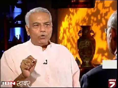 Yashwant Sinha se Prabhu chawla ki tikhi baat (part-1)
