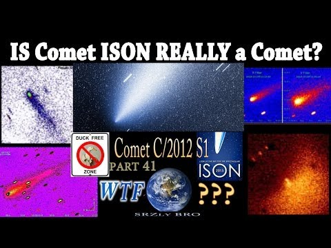 Is Comet ISON really a Comet?!?!?