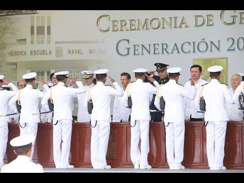 Ceremonia de Graduación de la Generación 2009-2014 de la Heroica Escuela Naval Militar