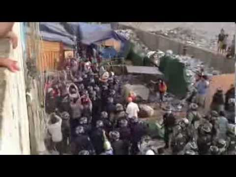 Police Forces Are Suppressing and Evicting Borey Kai La Residents - Part1