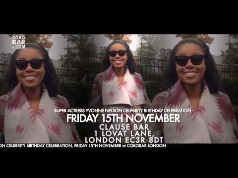 COKOBAR LONDON HOSTS YVONNE NELSON'S CELEBRITY BIRTHDAY EXTRAVAGANZA - FRI15THNOV