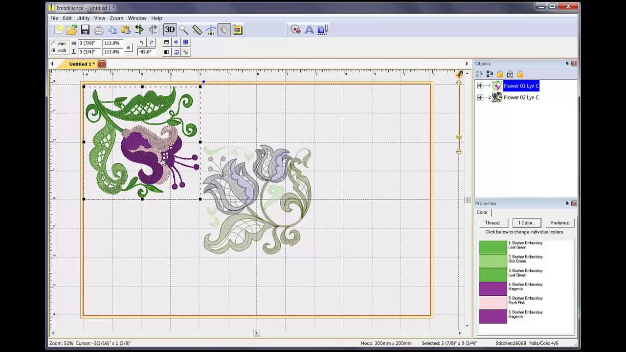 Embroidery designs software makaroka