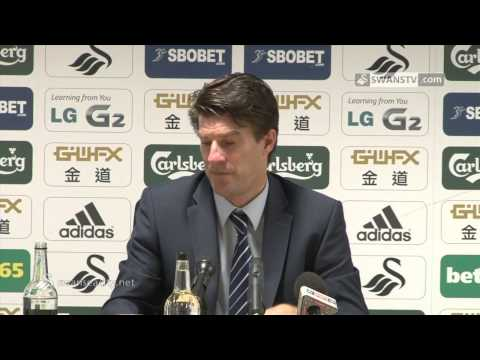 Swansea City Video: Michael Laudrup speaks after 2-0 win over Fulham