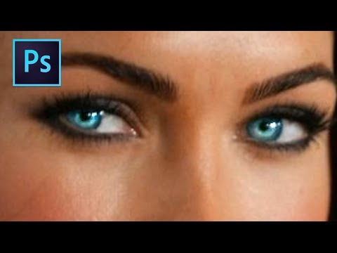 Adobe Photoshop CS6: Beginners Tutorial - How To Change Eye Color