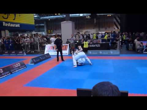 British BJJ Open 2013 - White Master Feather - Lee Rooney - Quarter Final