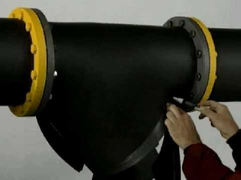 Izolacja filtra o dużej średnicy matą k-flex