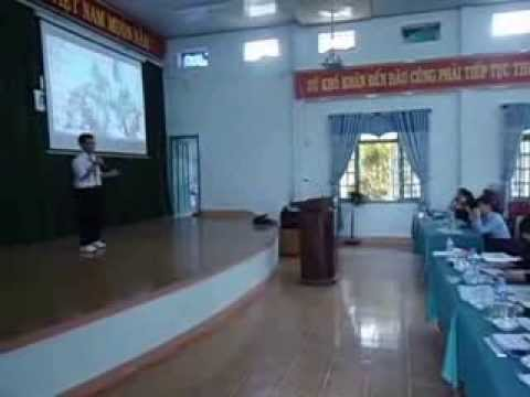 Minh Trí thi hùng biện Tiếng Anh các trường THCS cấp thành phố