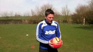 Learn Football Soccer Skills Shooting Tips