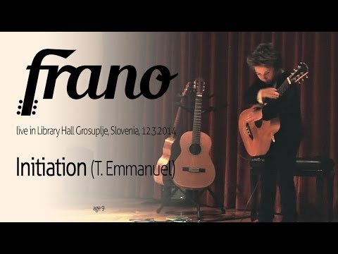 Frano plays Initiation [Live]