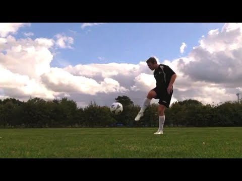 Learn Robin Van Persie Volley -  Football Soccer shooting Tutorial