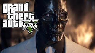 "GTA 5 Online How To Dress Up Like ""Black Mask"" From Batman"