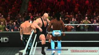 Video Air Boom Vs Big Show And Kane Tag Team Match WWE