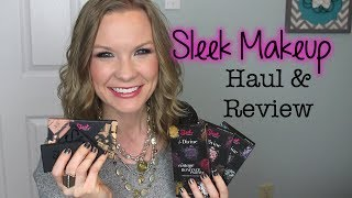 LipglossLeslie – Sleek Makeup Haul & Review!