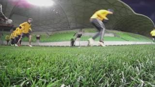 Juve go 360° in Melbourne workout -  Allenamento a 360 gradi!