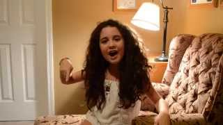 Brianna Rose Sings Cover Of Roar By Katy Perry 9 1/2 Years Old