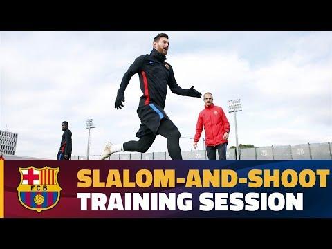 Messi & Co. take target practice