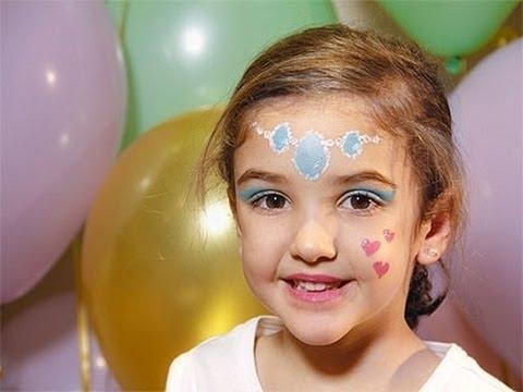 Maquillaje de princesa infantil - Imagui