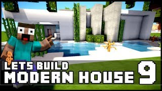 Minecraft Lets Build: Modern House 9 + Download