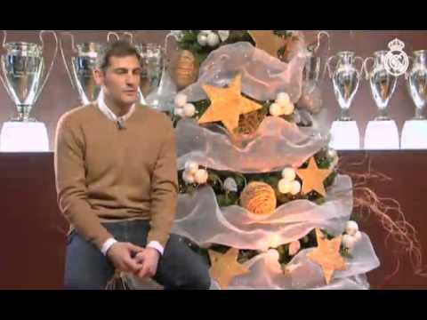 El Real Madrid desea una feliz Navidad para toda la familia blanca