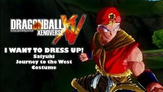 journey to the west costume set xenoverse