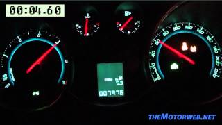 Chevrolet Cruze 1.7 Diesel 130 CV 0-120 Km/h
