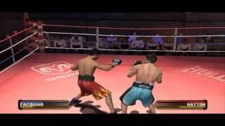 Manny Pacquiao Vs Ricky Hatton Fight Night Round 3