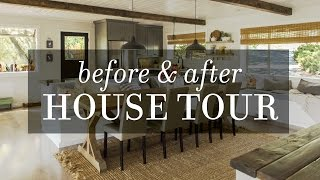 House Tour: Before & After DIY Modern Farmhouse Transformation