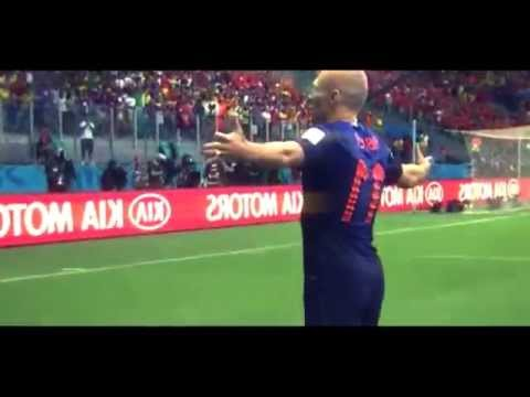 Netherlands 5 : 1 Spain |Highlights |WorldCup 2014 Brazil