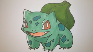 How To Draw Bulbasaur Step By Step (Pokemon)