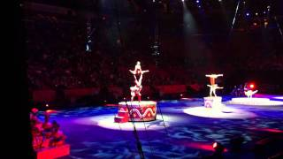 Ringling Bros and Barnum & Bailey Hand Balance act
