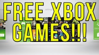 How To Get Free Games On Xbox Live