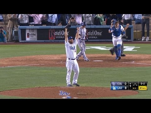 COL@LAD: Kershaw fans 15 in no-hitter vs. Rockies