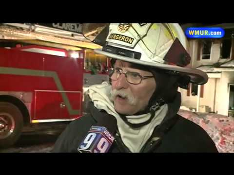 3 N.H. firefighters burned battling house fire