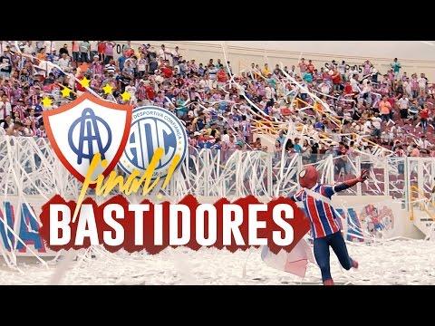 BASTIDORES: Confiança 1x1 Itabaiana | 1º Jogo da Final - Sergipão 2017
