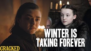 Arya Stark Kicks Ass, Lady Mormont's A Bad Ass & Ed Sheeran? - Winter is Taking Forever (GOT recap)