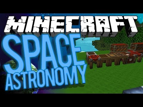 Minecraft Space Astronomy - PROFESSOR CHILD MAGE! #1 [Modded HQM Survival]