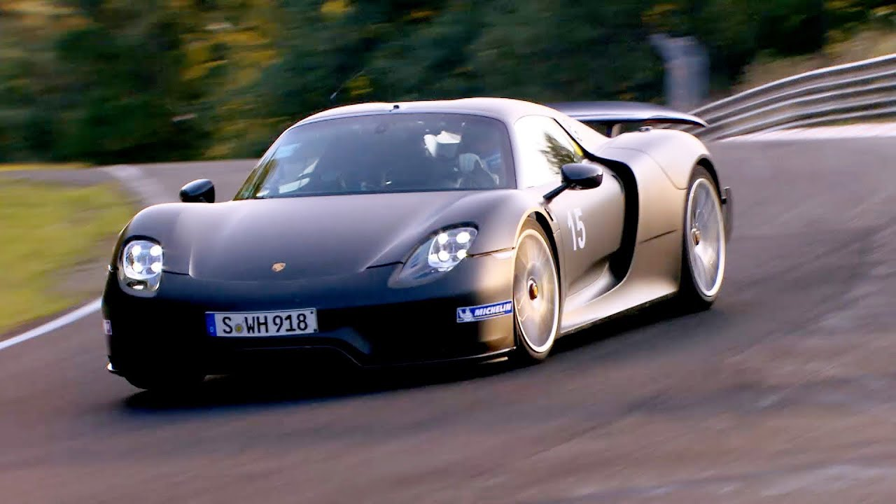2014 porsche 918 spyder high speed on the n rburgring. Black Bedroom Furniture Sets. Home Design Ideas