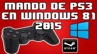 Como Usar Control De PS3 En Windows 8.1 [FUNCIONA]