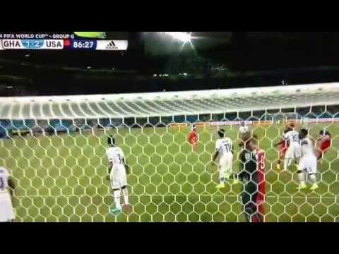John Brooks Goal USA vs Ghana
