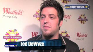 chanel-: Lee DeWyze, celebrates his 25th birthday by at Millions Of Milkshakes Westfield Culver City