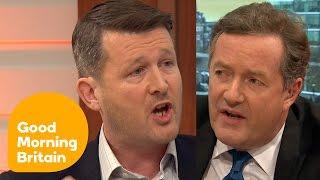 Piers Morgan Rages At Big Game Hunter Over Repellant Sport | Good Morning Britain