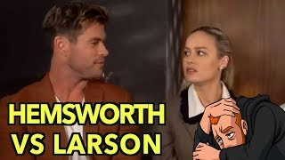 Chris Hemsworth Vs Brie Larson: My Thoughts