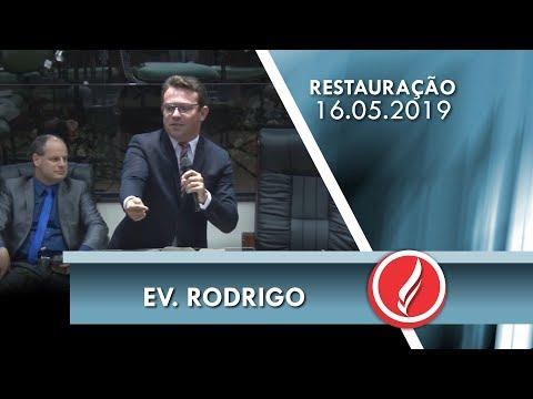 Ev. Rodrigo | Jesus está vivo | Lc 24.32 | 16 05 2019