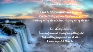 Evita Don't Cry For Me Argentina (Lyrics)