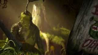 Shrek (2001) Blu Ray Menu