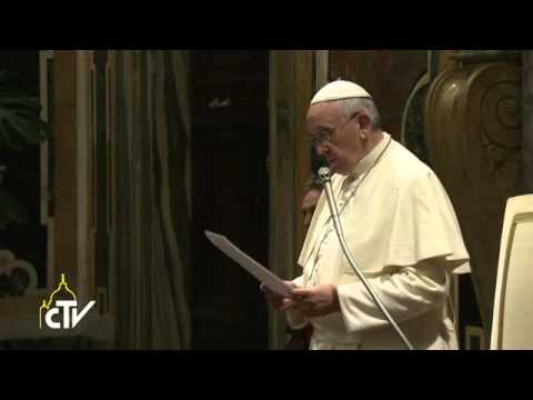 Pope Francis: Christmas tree recalls light of God in history